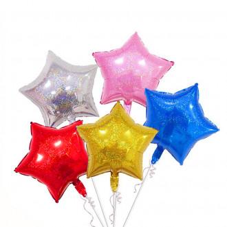 Փուչիկ ֆոլգա 50հ-ոց /աստղ գույներով փոքր