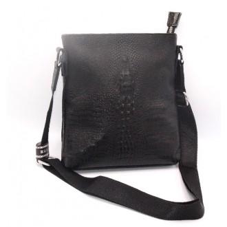 Պայուսակ կաշվե (կոկորդիլոսային կաշի) crocodile leather, man bag