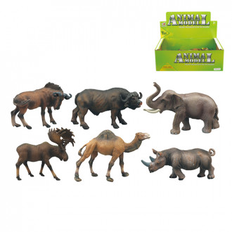 Կենդանիների հավաքածու 12հ-ոց տուփով 6ձև