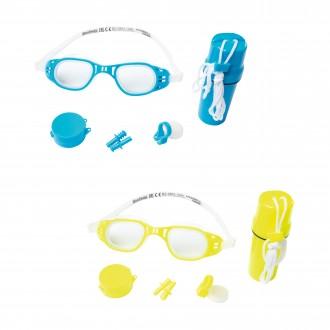 Լողի ակնոց հավաքածույով Bestway Hydro-Swim Protector Set
