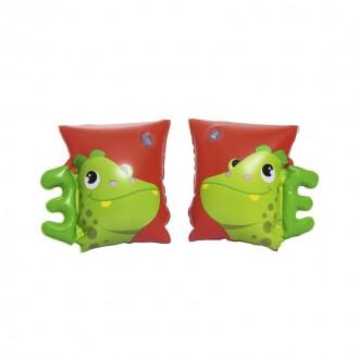 Փչովի լողի թևիկ ցել-ով, Bestway 23cm x 15cm Dinosaur & Parrot Armbands