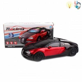 Մեքենա էլ-ով մուլտիկացված, 3D լույսային /Electric Universal None car Lights Music IC withou/