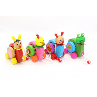 Փայտե խաղալիք  անիվով