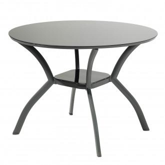 Սեղան ապակյա, կլոր մակերեսով