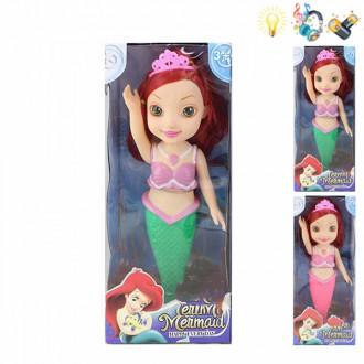 Տիկնիկ տուփով ջրահարս Mermaid 2ձև մուլտ հերոս լույսով ձայնով