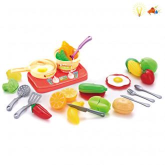 Խոհանոցային հավաքածու+ կտրատվող բանջարեղեն տուփով