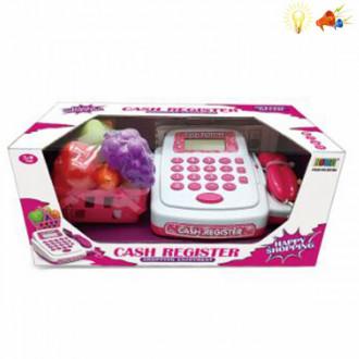 Խաղ ՀԴՄ իր հավաքածույով, մանկական թղթադրամով, кассовый аппарат