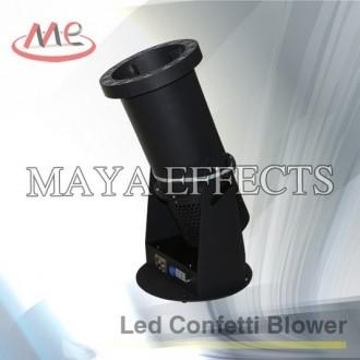 Կանֆետի թուղթ փչող սարք 1տեղով // DMX + LED //