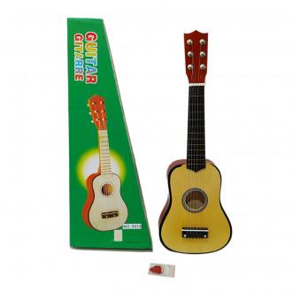 Մանկական երաժշտական կիթառ, փայտե