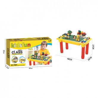 Լեգո + սեղանիկ հավաքածուով 200կտ.