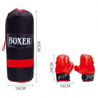Բոքսի տանձիկ մանկական USA /boxing set
