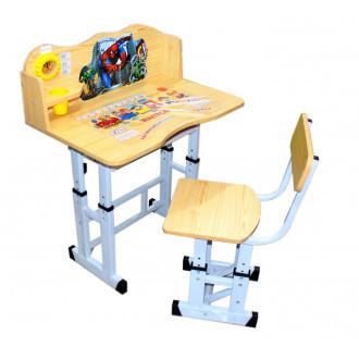 Փայտե գրասեղան աթոռով Spider Man