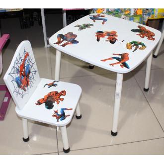 Մանկական սեղան + մեկ աթոռակ