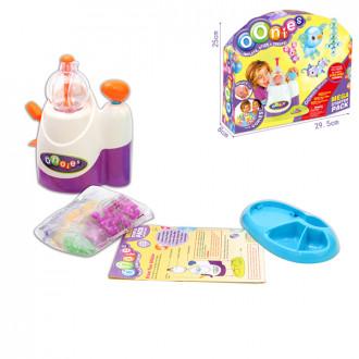 Խաղալիք ստեղծման արվեստ, ինքնակպչուն փուչիկ և իր փչման սարքավորումով