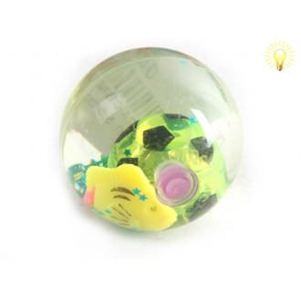 Խաղ գնդակ ռետինե, հեղուկ + ձուկ գնդակով 12հ-ոց