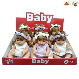 Տիկնիկ մանուկ Baby 6հ-ոց բլ-ով