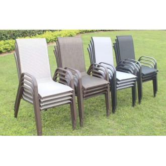 Աթոռ մետաղյա հիմքով, պոլիմեռ ցանցե գործվածքով, չորս երանգ