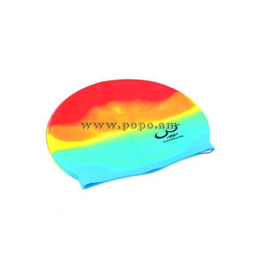 Լողի գլխարկ սիլիկոնե, գույնզգույն /SWIMMING CAP/