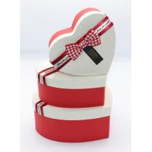 Նվերի տուփ 3հ-ոց, սիրտ /3PCS GIFT BOX/ T8022-1R