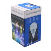 Լամպ լույս դիսկո փոքր RGB LED 3w / LED BALL