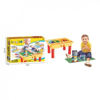 Լեգո + սեղանիկ հավաքածուով մեծ