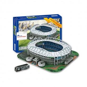 3D փազլ՝ ֆուտբոլի մարզադաշտ 183pcs
