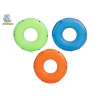 Փչովի լողի օղակ մեծ ցել-ով Bestway Φ1.19m Color Blast Swim Ring