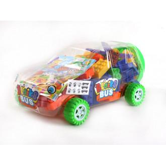 Խաղ լեգո մեքենա 104կտոր խորանարդիկներով