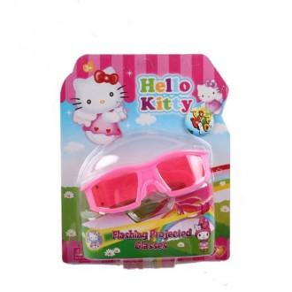 Մանկական ակնոց էլ.մարտկոցով`Hello Kitty