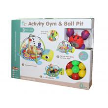 Խաղ մանկական գորգիկ կտորե, կամրջակով, մանեժ գնդակով