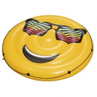 "Փչովի ջրի ներքնակ տուփով, ժպիտ, smile Bestway Φ74""/Φ1.88m #SummerStylez"