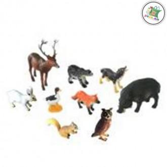 Ռեզինե մանր կենդանիներ 9հ-ոց