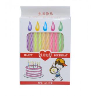 Ծննդյան մոմեր 10հ-ոց