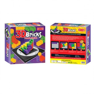 Լեգո գլուխկոտրուկ 3D, խորանարդիկ /3D bricks puzzle series set None/