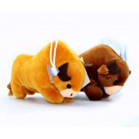 Փափուկ խաղալիք 12սմ-ոց ցուլ